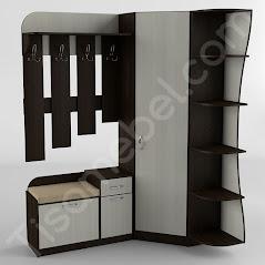 Прихожая-17 мебель разработана и произведена Фабрикой Тиса мебель