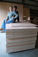Photo: These are all the Sing Sandwich Panels needed for Celina's Tiny Abode.