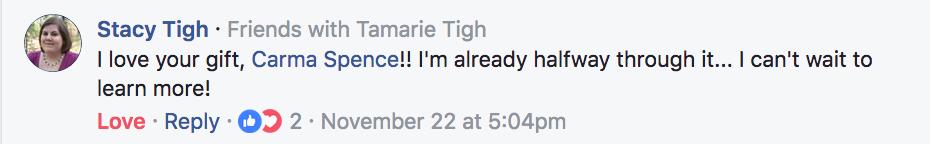 Stacy Tigh Testimonial