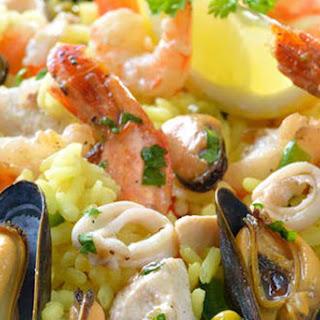 Spanish-Style Seafood Paella