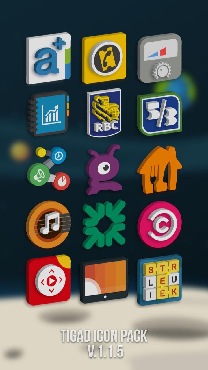 Tigad Pro Icon Pack Screenshot 6