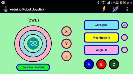 Download arduino robot joystick apk for android