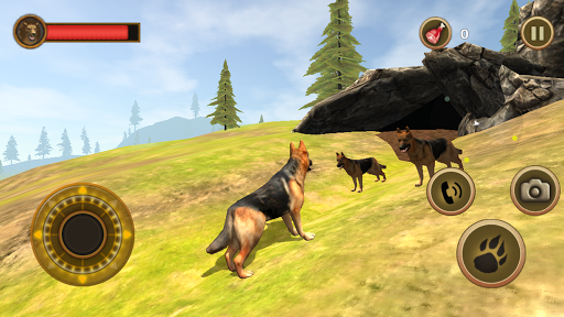 Wild Dog Survival Simulator screenshot 2