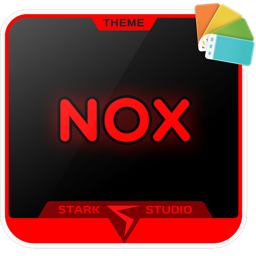 Theme Xp - NOX RED