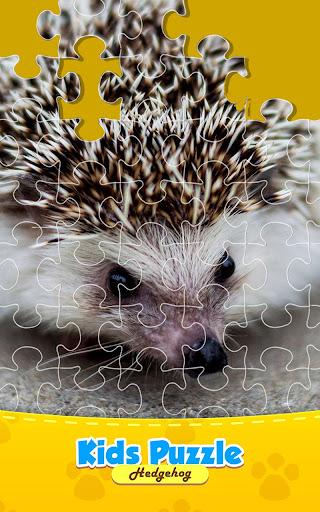 Baby Hedgehog - Jigsaw Puzzle