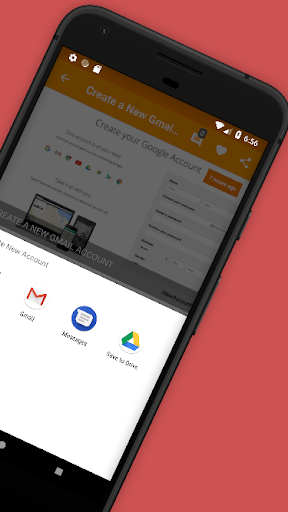 Create New Account 1.4 Apk for Android 4