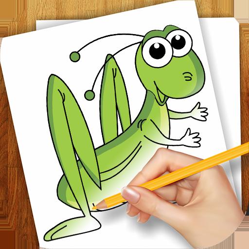 タイニー昆虫を描画することを学びます 教育 App LOGO-APP開箱王