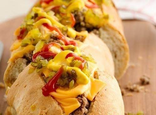 Stuffed Cheeseburger Loaf Recipe
