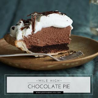 Mile High Chocolate Pie Recipe