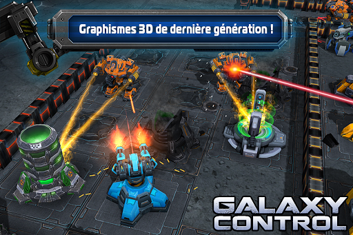 Galaxy Control: Stratégie 3D  captures d'écran 4