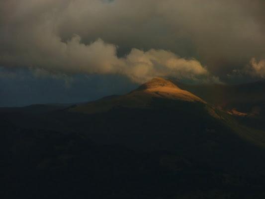 Tramonto verso i Monti della Laga di ghignidiplastica