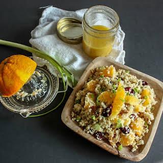 Orange Cranberry Quinoa Salad.