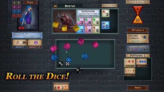 One Deck Dungeon Screenshot