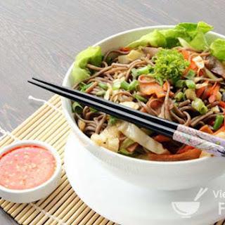 Mix-and-Match Vietnamese Wok-Fried Noodles (Mì Trộn)