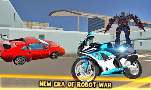 Moto Robot Fight: Futuristic War Robots Transform 1