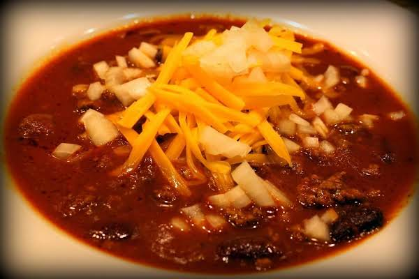 Authentic Texas Ranch-style Chili Recipe