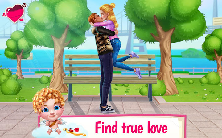 First Love Kiss - Cupid's Romance Mission Android App Screenshot