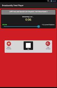 Broadcastify– Vignette de la capture d'écran