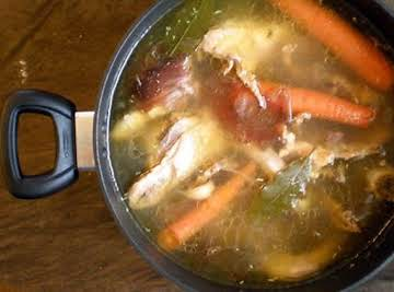 "Better than ""store bought"" Chicken Stock"