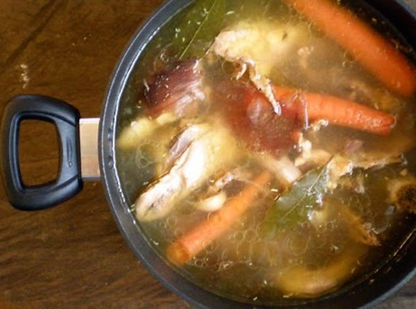 Better Than Store Bought Chicken Stock Recipe