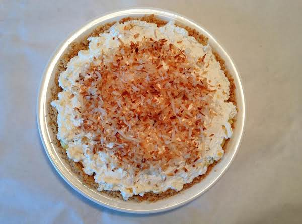 Tropical Coconut Cream Pie In Coconut Cookie Crust Recipe