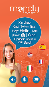 Download Learn 33 Languages Free – Mondly Apk For Android 1