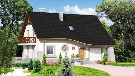 projekt Dom przy Berberysowej