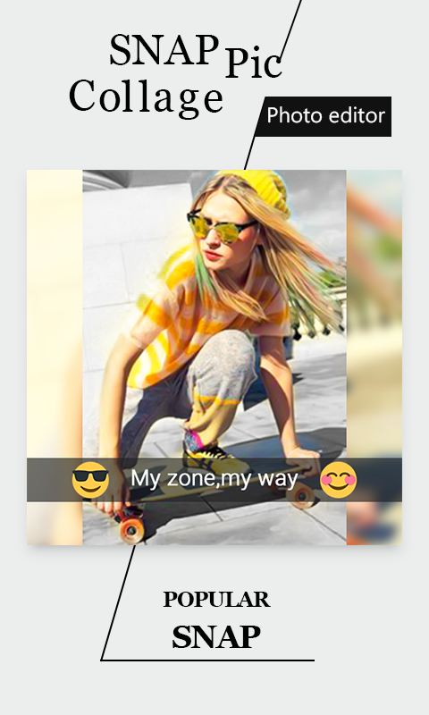 SnapPic Collage Photo Editor- screenshot