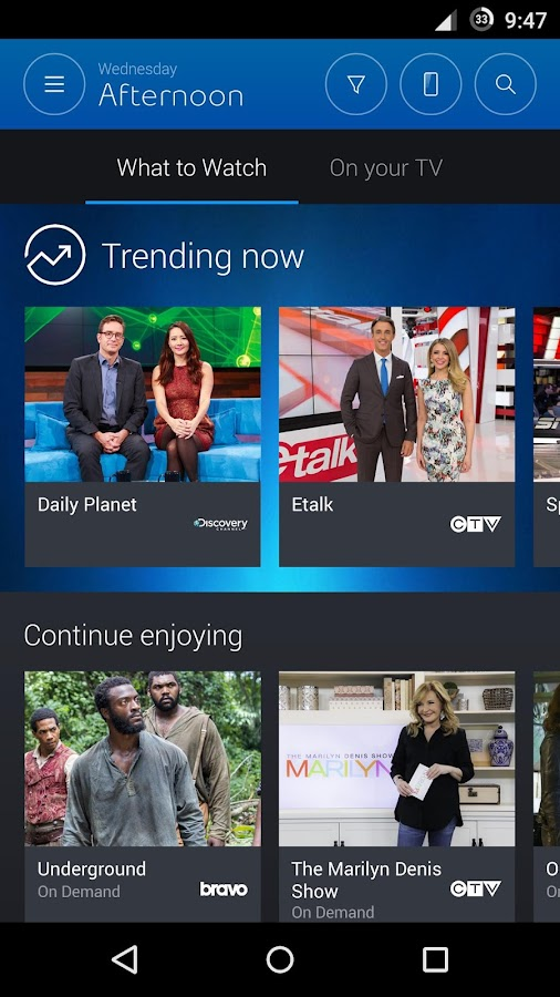 how to download bell tv app
