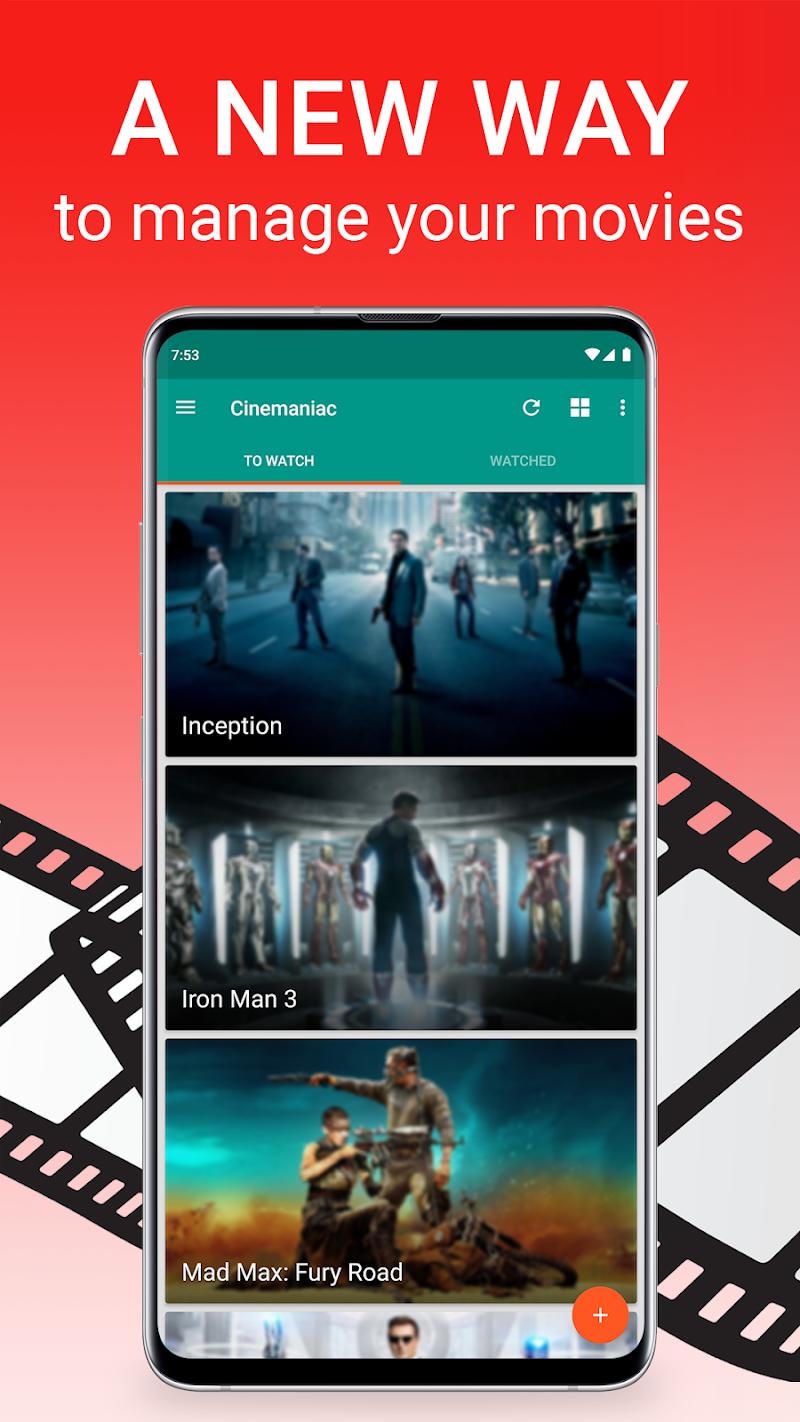 Cinemaniac - Movies To Watch Screenshot 0