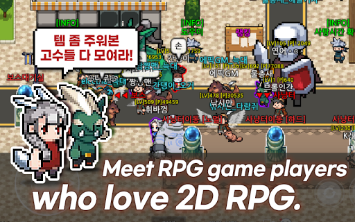 Nekoland: 2D RPG games created by users android2mod screenshots 5