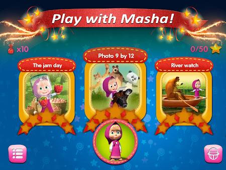 Masha and the Bear: Kids Games 1.04.1507151137 screenshot 1299