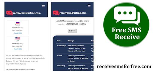 Free Sms Receive - التطبيقات على Google Play