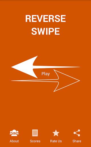 Reverse Swipe