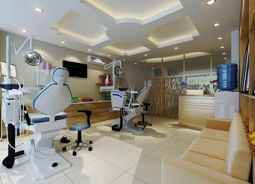 thiết kế phòng khám nha khoa thẩm mỹ 3