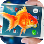 Fish In Phone Aquarium Joke
