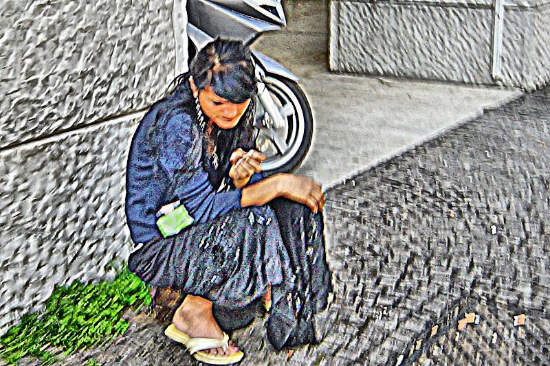 L'inquietudine della povertà di cesare carusio