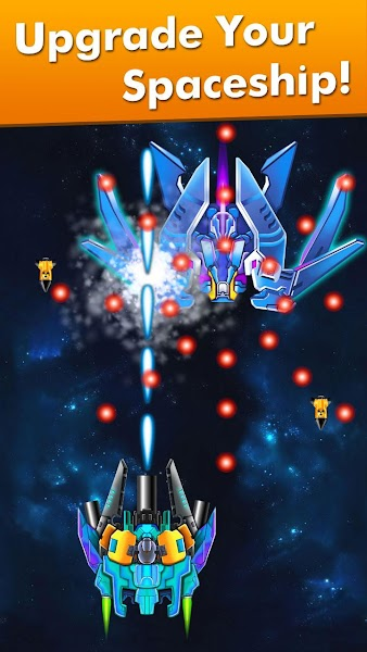 Galaxy Attack: Alien Shooter Screenshot Image