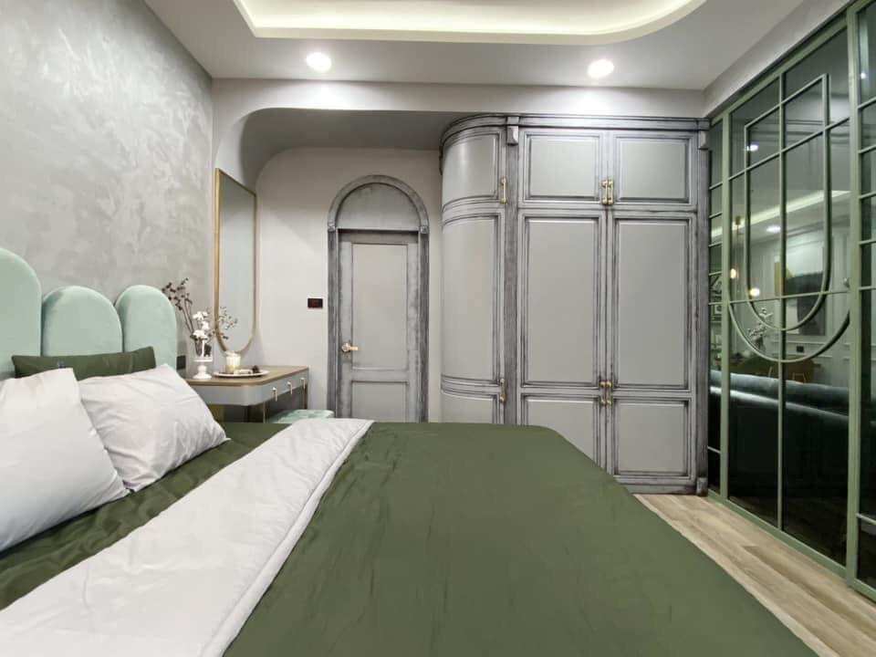 Mẫu thiết kế nội thất cho những gia chủ yêu màu xanh - Ảnh 4