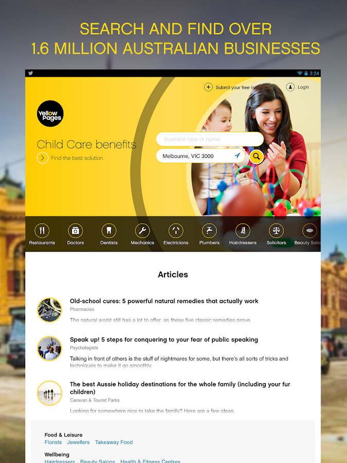 Yellow Pages® Australia- screenshot