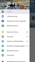 Screenshot of JW Podcast (deutsch)