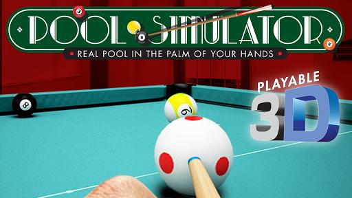 POOL SIMULATOR 8-Ball 2D 3D