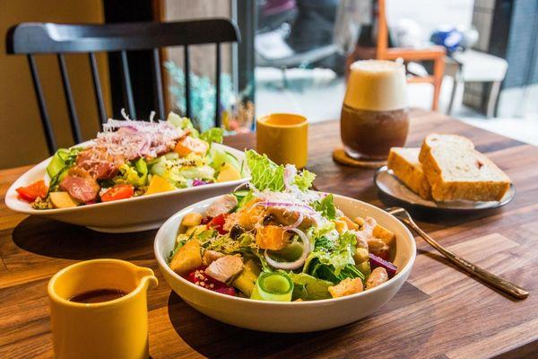 Cosy Cozy 沙拉、咖啡、果昔 x 真材實料早午餐推薦