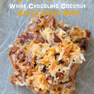 Pumpkin White Chocolate Coconut Magic Bars