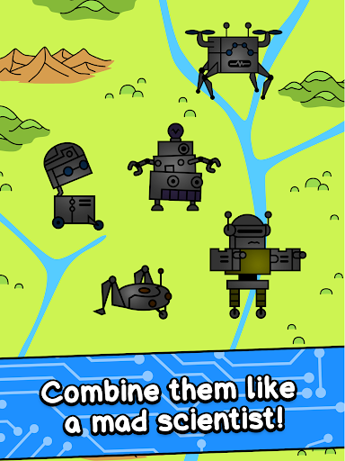 Robot Evolution - Clicker Game 1.0 screenshots 7