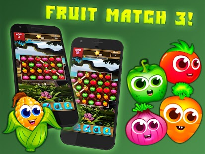 Fruit Splash Match 3: 3 In a Row- screenshot thumbnail