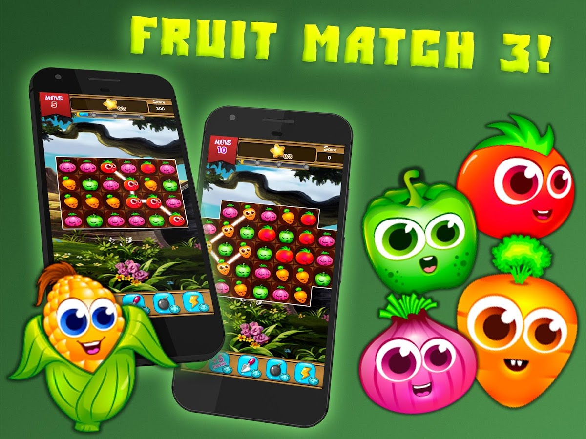 Fruit Splash Match 3: 3 In a Row- screenshot