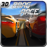 Fast Drag Race 3D Icon