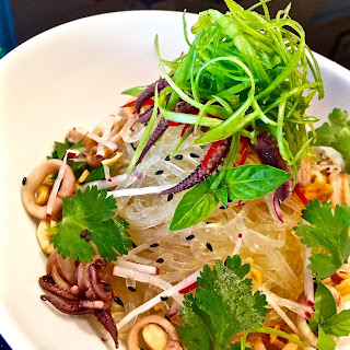 Squid and Cellophane Noodle Salad