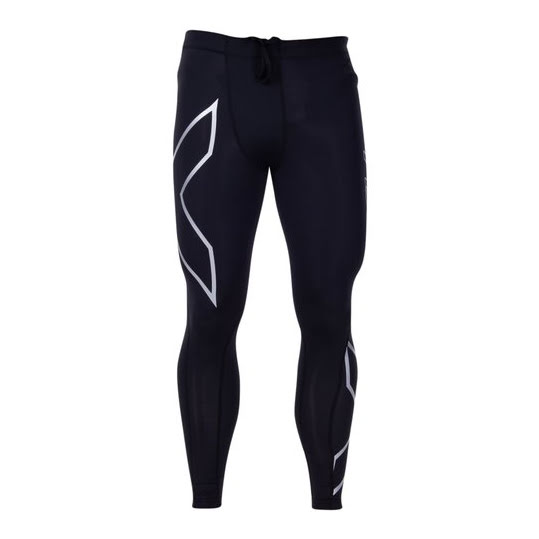 2XU TR2 Compression Tights, Herr (Färg: Black/White, Stl: ST)